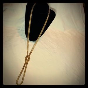 ✨🔶Long Gold Knot Necklace🔶✨